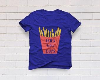 fries before guys svg, Fries svg, Kids svg file, Girls svg, Funny svg, SVG Files, Cricut, Cameo, Cut file, Clipart, Svg, DXF, Png, Eps
