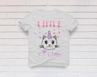sister svg, little sister svg, unicorn svg, Kindergarten svg, Princess svg, Girl svg, Birthday svg, Cricut, Cameo, Svg, DXF, Png, Eps
