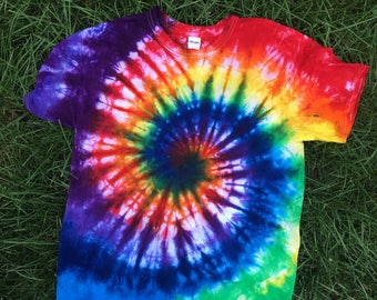 Tie-Dye T-shirt - Customized (Make sure to check details)