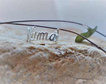 Namaste Ring 925 Sterling Silver *handmade with love* yoga jewellery
