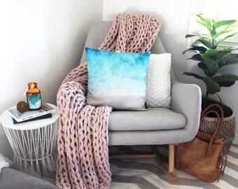 Beach Cushion // Beach decor // Cushion Cover // Cushion Pillow // Photo Cushion