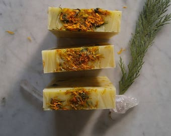 Sunshine Magic Cold Process Calendula Soap
