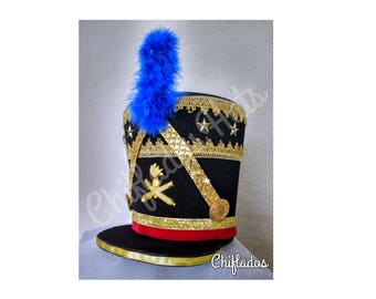 Vintage French Military hat costume