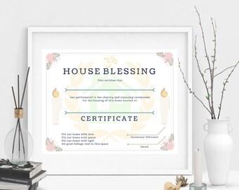 House blessing | Etsy