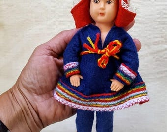 Lapland Doll or Sami Doll from Finland.