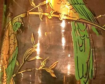 Set of Four (4) DOF Glasses - Parrots