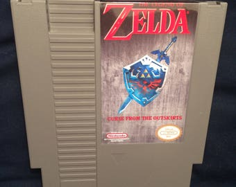 The Legend OF Zelda Curse From the Outskirts NES Game