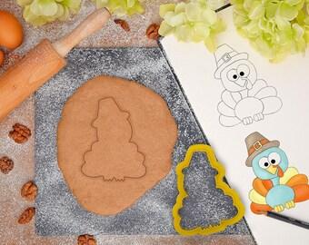 Thanksgiving Turkey Pilgrim - Cookie Cutter