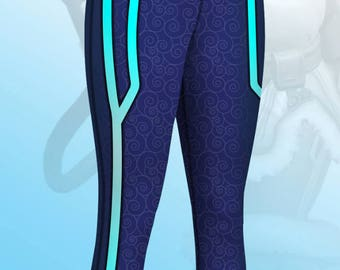 Overwatch Mei Cosplay Yoga Pants
