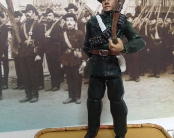 Irish Citizen army Custom 3.75inch Action figure
