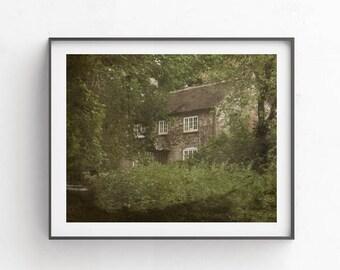 Home interior pictures 8x10 Printable photography Wall artCottage print decor Farmhouse wall art Cottage house Village landscape Pulborough