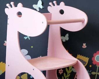 Little Helper Tower, Giraffe Helper, Toddler Step Stool, Kitchen Helper  Tower, Kitchen