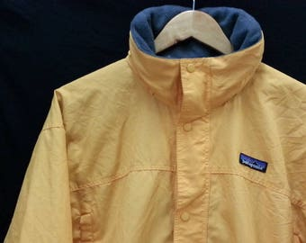 Vintage PATAGONIA//Windbreaker Hooded//Zip Button//Size M