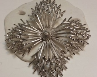 Crown Trifari Fireworks Brooch