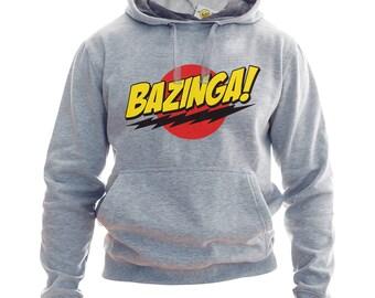 Bazinga Hoodie Or Sweatshirt Bazinga Hoodie Bazinga Sweater TBBT Hoodie Big Bang Theory Sweatshirt Sheldon Cooper Hoodie Bazinga TBBT Fandom