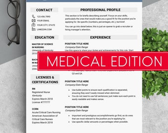 Medical cv Doctor resume template Medical resume doctor Cv template medical Cv doctor resume medical Nurse cv template Nurse resume word CNA