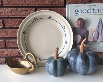 Vintage Friendship Pottery Baking Pan