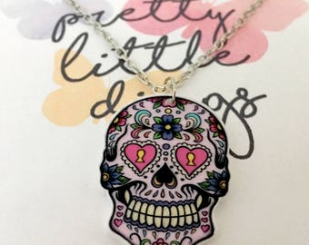"Chain ""Sweet death"" acrylic"