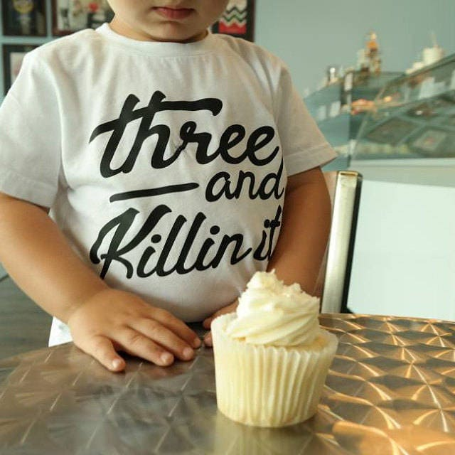 3 Year Old Birthday Shirt Three Boy 3rd