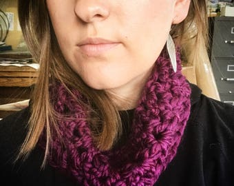 Crochet Cowl, 18 Colors