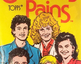Unopened Wax Pack of Growing Pains Trading Cards - Topps Collectible Trading Cards - Vintage 1988 - 80's Nostalgia - Classic 80's TV Show