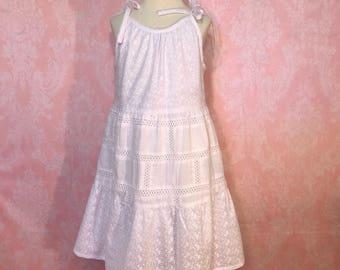 summer dress for girls. Summer dress for toddler. Dress for girls. Dress for photo shoot. Dress for baby girl.  vintage. flower girl dress