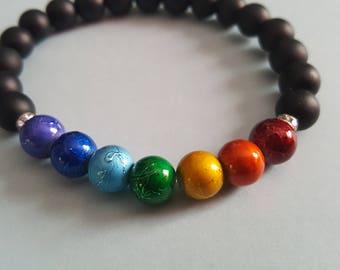 Chakra bracelet, 7 Chakras, Beaded Bracelet, Healing Bracelet, Energry Bracelet