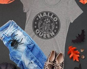 Halloween Shirt Hocus Pocus Starbucks Basic Witch Shirt Tee Halloweentown Beetlejuice Witches Disney Halloween Tumblr Women Clothing