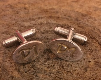 Personalised finger print cuff links