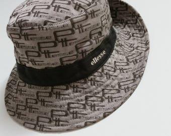 Vintage Ellesse monogram bucket hat