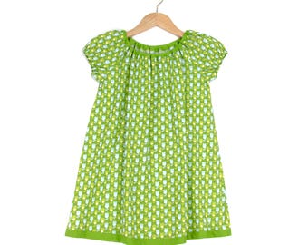 Summer dress girl Dress Floral Green