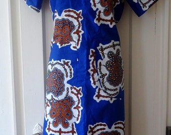 Ankara Dress/ Shift Dress/ African print/ Ankara Shift dress/