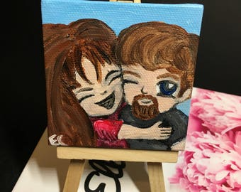 Couple Goals Mini Painting