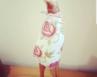 Hand Decorated Rose Puddleduck