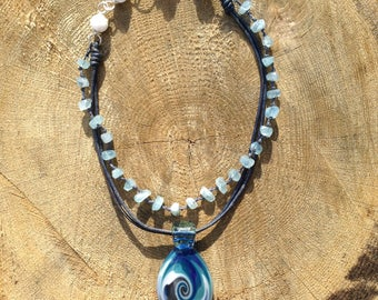 Surfer style necklace