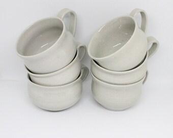 Set of 6 Small Mugs