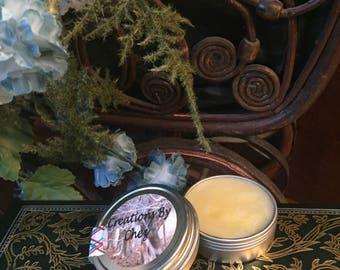COCONUT LIP BALM, all natural chapstick, 1 ounce metal tin, unscented lip balm, organic