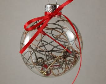 Guitar String Holiday Ornament