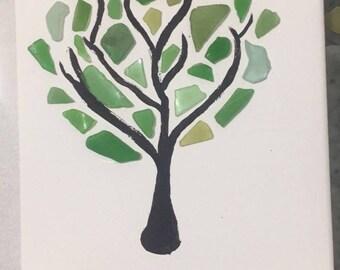 Sea Glass Tree of Life