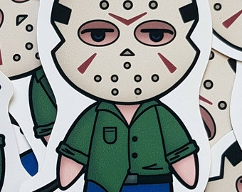 Jason - Friday 13th the game - Chibi Sticker