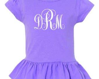 Toddler Girl's ruffle shirt