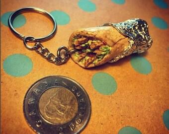 Mini Burrito Keychain
