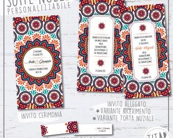 Ethnic participation, printable, customizable, complete set