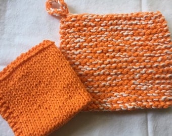 Kitchen Potholder, Hot pad, dishcloth, Tennessee Colors