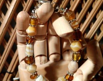 Amber honey
