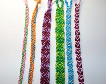 Custom Friendship Bracelets - Heart, Celtic Knot, and more
