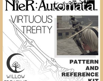 Virtuous Treaty/Cruel Blood Oath weapon reference kit - NieR:Automata
