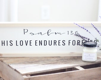 Psalm 136 | His Love Endures Forever