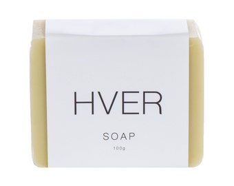 Vegan Organic Natural Soap - Shea Butter + Olive oil with Tea Tree + Cedarwood, French Green Clay, Sensitive Skin, Handcrafted Soap
