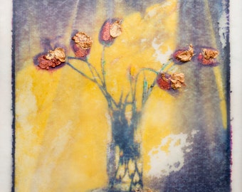 Waxed Polaroid Transfer (Encaustic)